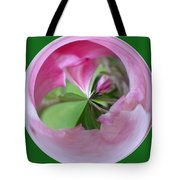 Morphed Art Globe 11 Tote Bag by Rhonda Barrett