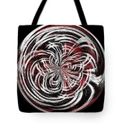 Morphed Art Globe 15 Tote Bag by Rhonda Barrett