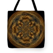 Morphed Art Globe 29 Tote Bag by Rhonda Barrett