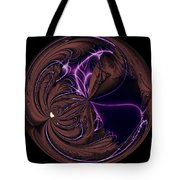 Morphed Art Globe 39 Tote Bag by Rhonda Barrett