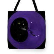 Morphed Art Globe 6 Tote Bag by Rhonda Barrett