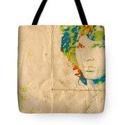 Morrison Watercolor Splash Tote Bag by Paulette B Wright