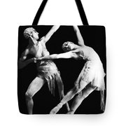 Moscow Opera Ballet Dancers Tote Bag by Underwood Archives