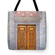 Mosque Doors 04 Tote Bag by Antony McAulay