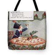 MOTHER GOOSE: JACK HORNER Tote Bag by Granger