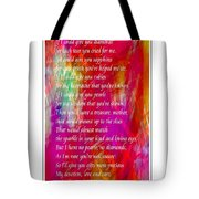 Mother If I Could Give You 2 Tote Bag by Barbara Griffin