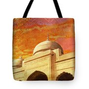 Moti Masjid Tote Bag by Catf