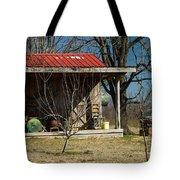 Mountain Cabin in Tennessee 1 Tote Bag by Douglas Barnett
