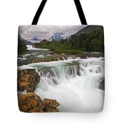 Mountain Paradise Tote Bag by Mark Kiver