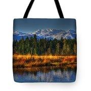Mountain Vista Tote Bag by Randy Hall