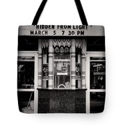 Movie theater Tote Bag by Rudy Umans