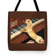 Mozart's Apprentice Tote Bag by Barbara Keith