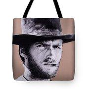 Mr. Eastwood Tote Bag by Ellen Patton