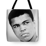Muhammad Ali 1967 Tote Bag by Mountain Dreams