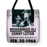 Muhammad Ali Poster Tote Bag by Dan Sproul