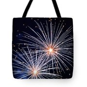 4th Of July Fireworks 3 Tote Bag by Howard Tenke