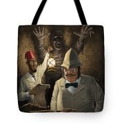 Mummy Awake Tote Bag by Martin Davey