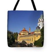 Munich - Mueller'sches Volksbad - Au-haidhausen Tote Bag by Christine Till