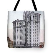 Municipal Building Tote Bag by Granger