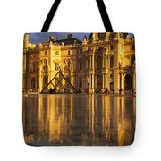Musee Du Louvre Sunset Tote Bag by Brian Jannsen