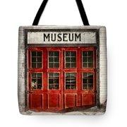 Museum Tote Bag by Priska Wettstein