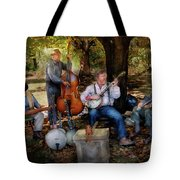 Music Band - The Bands Back Together Again Tote Bag by Mike Savad