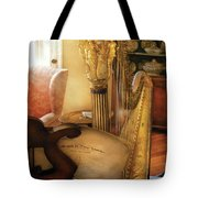 Music - Harp - The Harp Tote Bag by Mike Savad