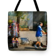 Music - Mummers Preperation Tote Bag by Mike Savad
