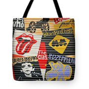 Music street art color Tote Bag by Luciano Mortula