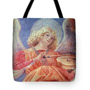 Musical Angel With Violin Tote Bag by Melozzo da Forli