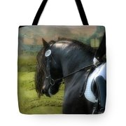 Musical Freestyle Tote Bag by Fran J Scott