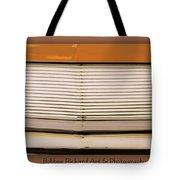 Mustang Grill Tote Bag by Bobbee Rickard