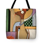 My Apple Head Chihuahua Tote Bag by Anthony Falbo