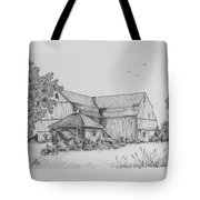 My Barn Tote Bag by Gigi Dequanne