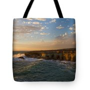 My Land Is The Sea Tote Bag by Stelios Kleanthous