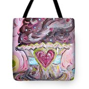 My Lil Cupcake - Chocolate Delight Tote Bag by Eloise Schneider