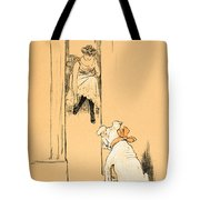 My Mistress Dressing Tote Bag by Cecil Charles Windsor Aldin