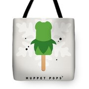 My Muppet Ice Pop - Kermit Tote Bag by Chungkong Art