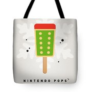 My Nintendo Ice Pop - King Bowser Tote Bag by Chungkong Art