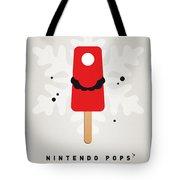 My Nintendo Ice Pop - Mario Tote Bag by Chungkong Art