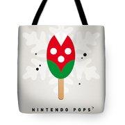 My Nintendo Ice Pop - Piranha Plant Tote Bag by Chungkong Art