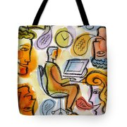 My Office Tote Bag by Leon Zernitsky