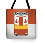 My Star Warhols Luke Skywalker Minimal Can Poster Tote Bag by Chungkong Art