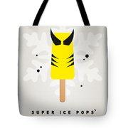 My Superhero Ice Pop - Wolverine Tote Bag by Chungkong Art