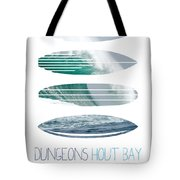 My Surfspots Poster-4-dungeons-cape-town-south-africa Tote Bag by Chungkong Art