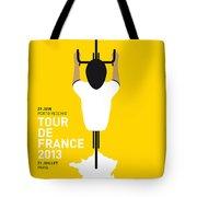 My Tour De France Minimal Poster Tote Bag by Chungkong Art
