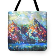 My Vision Say It Out Loud Tote Bag by Chrisann Ellis