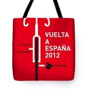 My Vuelta A Espana Minimal Poster Tote Bag by Chungkong Art