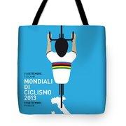 My World Championships Minimal Poster Tote Bag by Chungkong Art