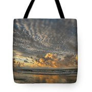 Myrtle Beach Panorama 2 Tote Bag by Jeff Breiman